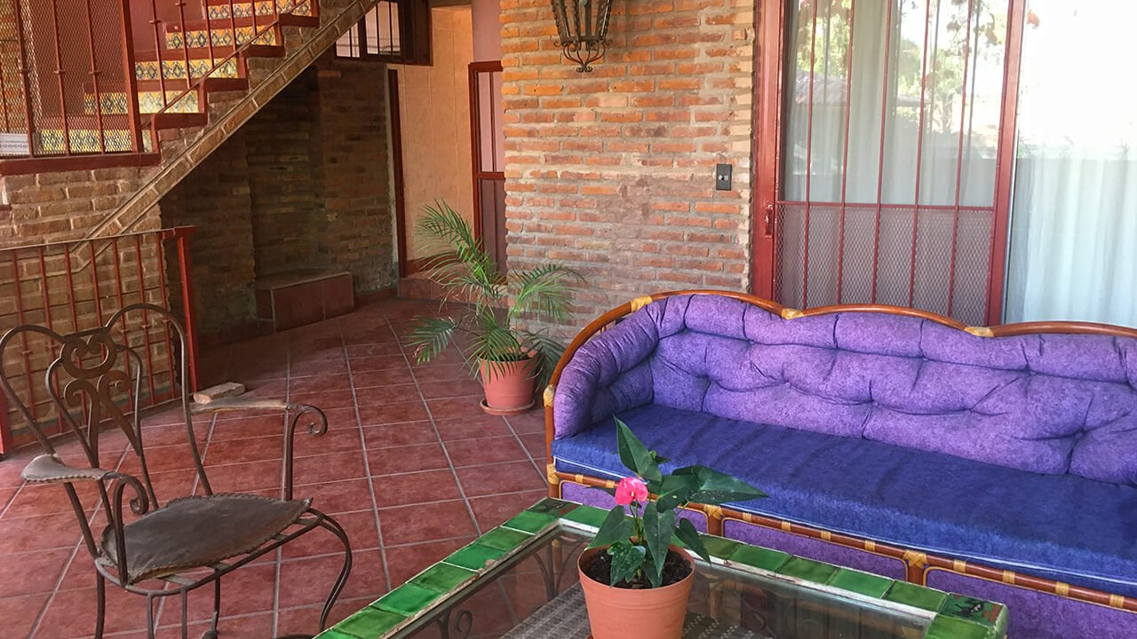 Outdoor Sitting Area, Co-Living at La Casa de Milagros