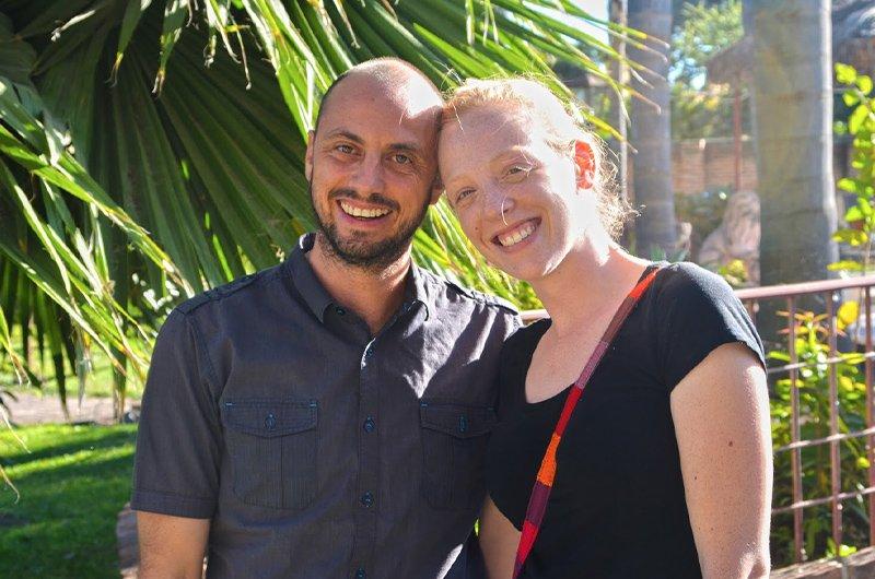 Ken and Susannah, Co-Living at La Casa de Milagros